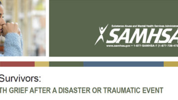 Tops for Survivors: Coping with Grief After a Disaster or Traumatic Event (SAMHSA)
